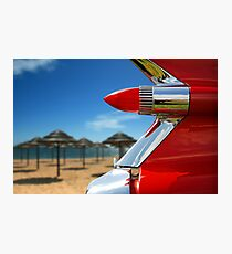 Red Tail Lights Photographic Print