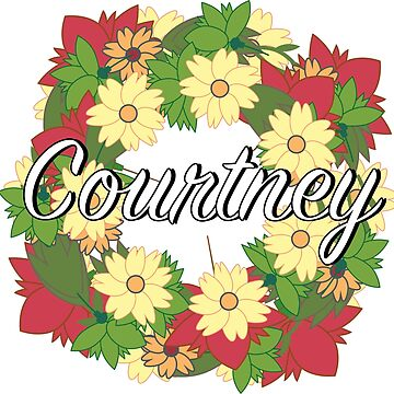 Courtney - Flower Wreath by Nevl