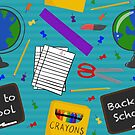 School Supplies by Pamela Maxwell
