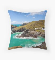 Kynance Cove Throw Pillow