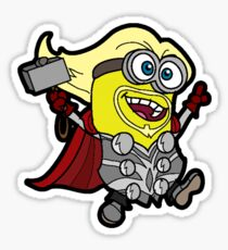 Minions Assemble - Lord of Thunder, Prince of Mingard Sticker