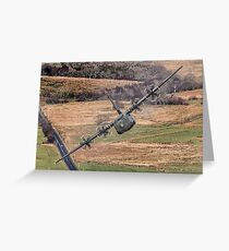 C130 Hercules Greeting Card