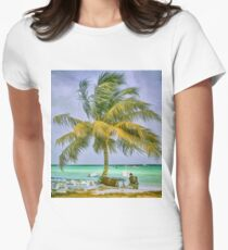 Sittin' in the morning sun Women's Fitted T-Shirt