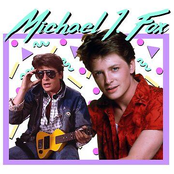 80s Michael J Fox by ellentwd