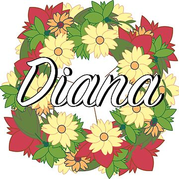 Diana - Flower Wreath by Nevl