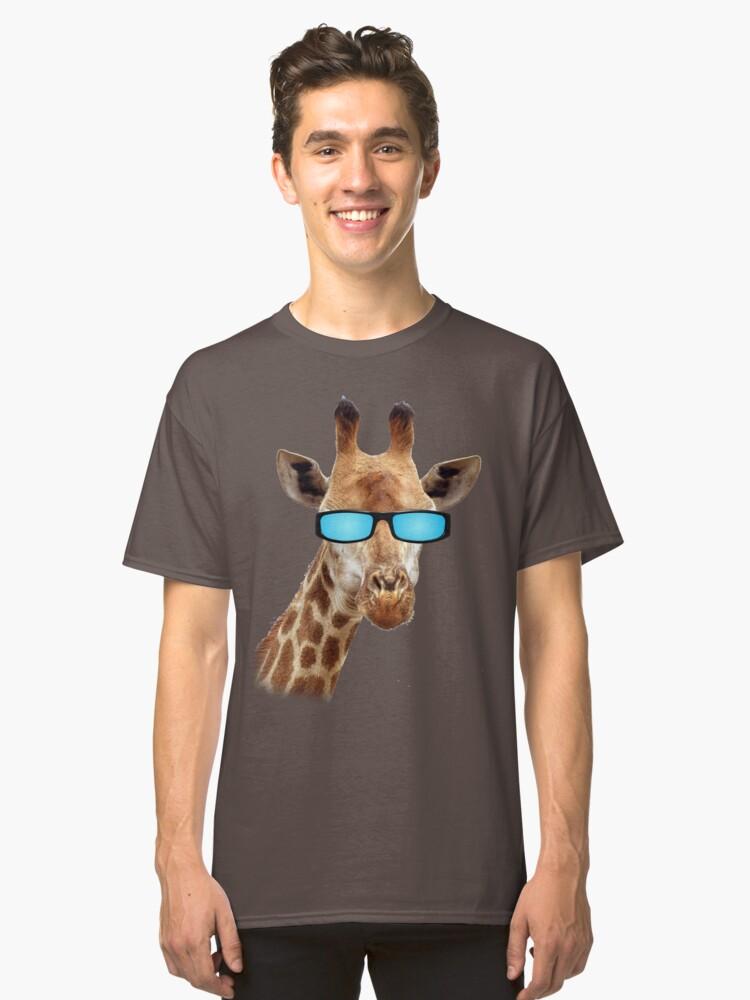 Groovy Giraffe Classic T-Shirt Front