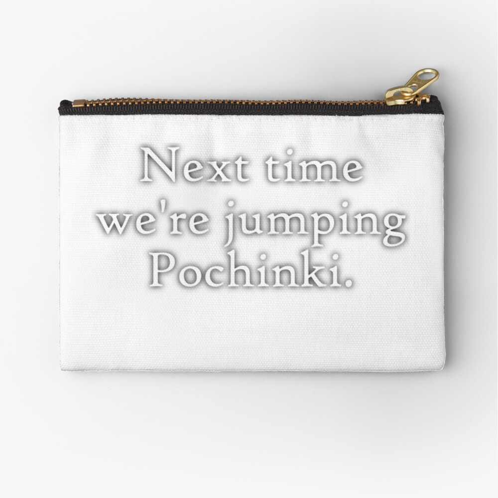 Jumping Pochinki Zipper Pouch