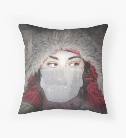 Infuenza09 Throw Pillow