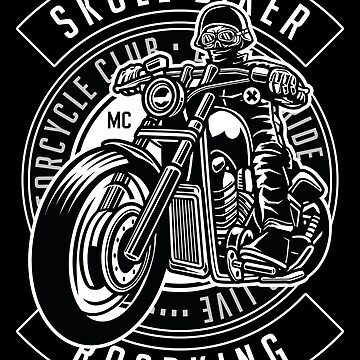 Skull Biker Roadking by Skullz23