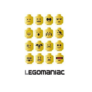 LEGOMANIAC by ninjafish