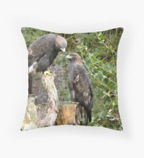 a braw pair Throw Pillow