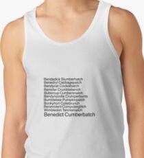 Benedict Cumberbatch Tank Top