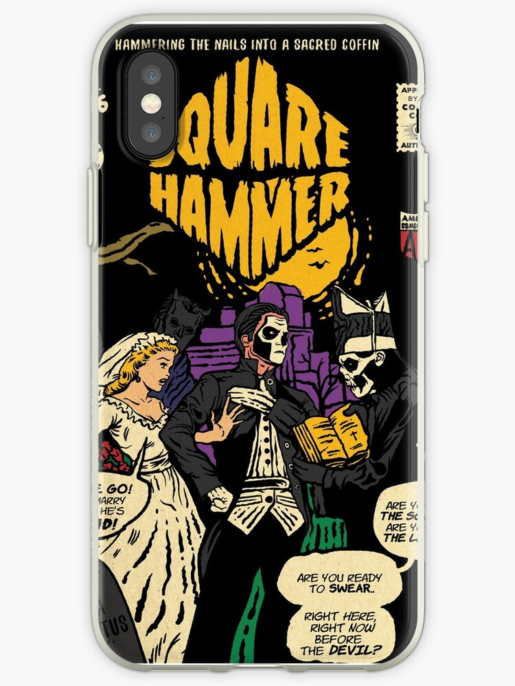 Square Hammer - Ghost Comic Series by designedbydeath