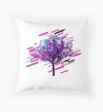 Cojín de suelo Tree graphics Eighties Retro Violet and Purple