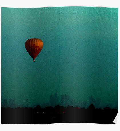 whispering balloon Poster
