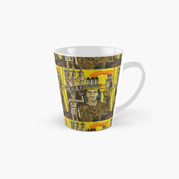 Peacemaker connects with Hiawatha in bringing forth the Great Law of Peace Tall Mug