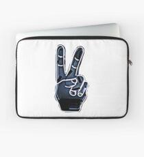 Peace Hand Sign Laptop Sleeve