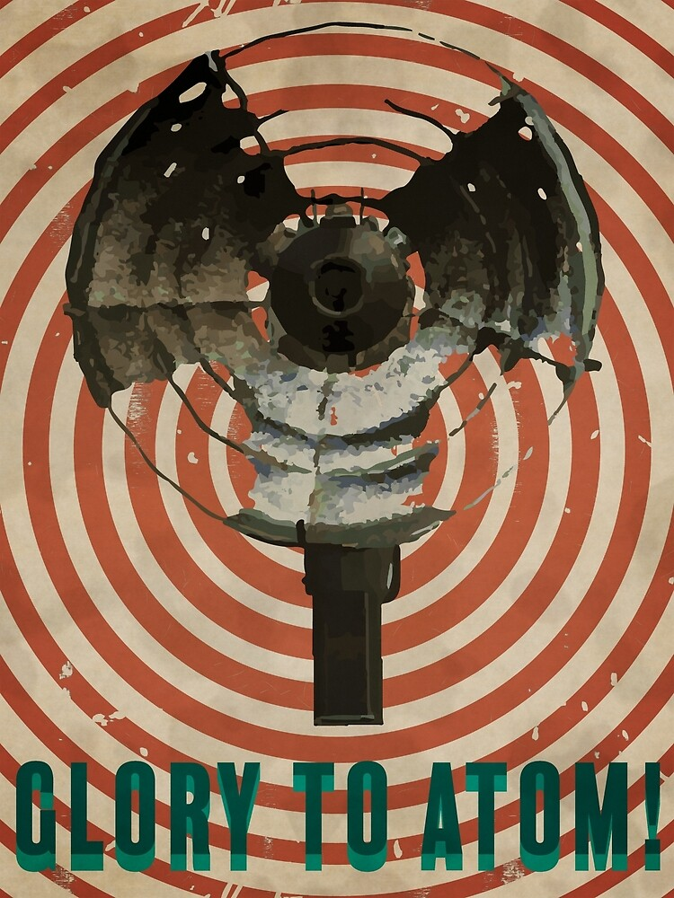 Glory to Atom! by alexananiev