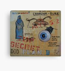 DOD Plan B Chardor-Sure Canvas Print
