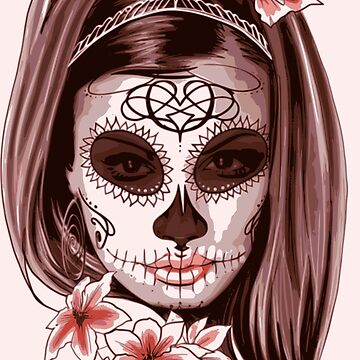Catrina Dias De Los Muertos Day Of The Dead by Zehda