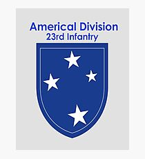 Americal Division - 23rd Infantry Photographic Print