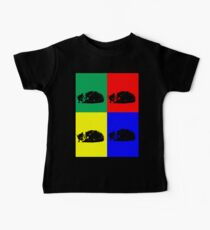 Pop Art Tabby Cat  Baby Tee