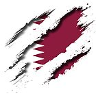 """Qatar """"Tearing A New One"""" by BlackCheetah"""