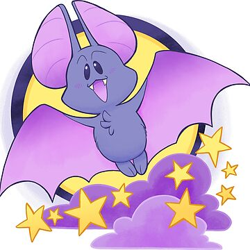 Full Moon Bat - Cute Critters by kickgirl