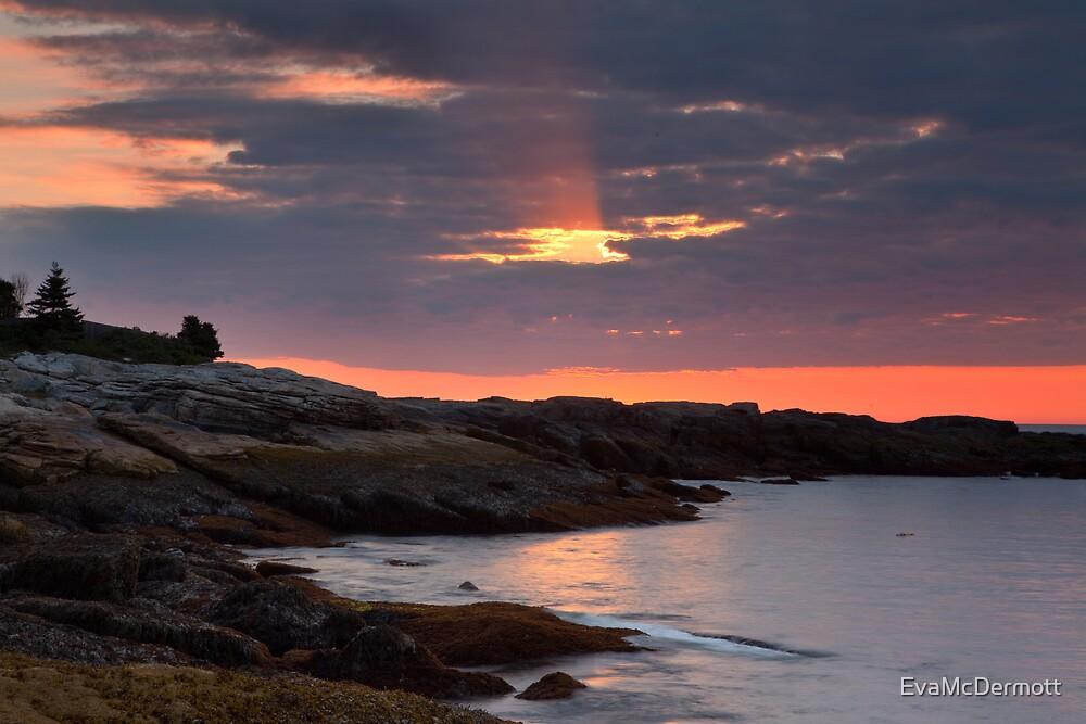 Sunrise Boothbay by EvaMcDermott