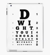 Dwight, du ignorante Schlampe iPad-Hülle & Klebefolie