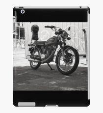 Vintage Honda Motorcycle iPad Case/Skin