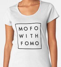 Mofo with Fomo square Women's Premium T-Shirt