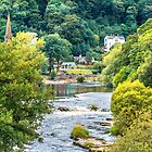 River Dee Upstream Llangollen by StephenRphoto