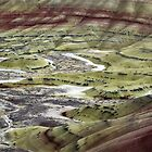 Earth Patterns I - Painted Hills National Monument, Wheeler County, OR by Rebel Kreklow