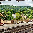 Llangollen Railway From Platform by StephenRphoto