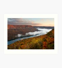 Tennessee River Gorge - Chattanooga, Tennessee Art Print