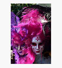 Venitian Masks Photographic Print