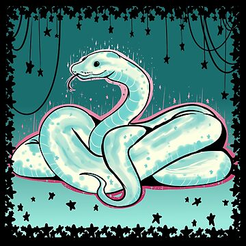 Glitter Snake by squidbiscuit