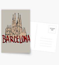 Barcelona Postcards