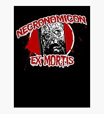 The Necronomicon Ex Mortis Photographic Print