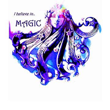 I believe in MAGIC  by Magicat
