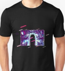 Time machine steampunk Eighties Retro Violet and Purple Unisex T-Shirt