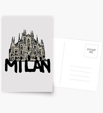 Milan Postcards