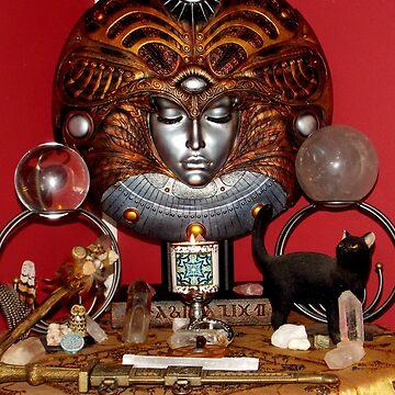 Altar Goddess by Magicat