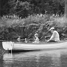 Fatherly Fishing Lessons by Laura Kelk