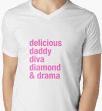 Jeffree Star Dogs Men's V-Neck T-Shirt