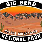 Big Bend National Park Texas by MyHandmadeSigns