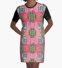 Last Throes of Summer Graphic T-Shirt Dress