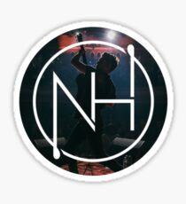 niall silhouette logo 3  Sticker