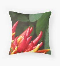 Chilli Peppers Throw Pillow